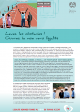 Brochure : levez les obstacles !  Ouvrez la voie vers l'égalité