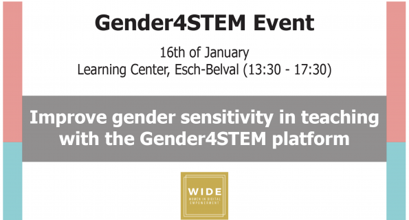 Improve Gender sensitivity in STEM teaching with Gender4Stem platform