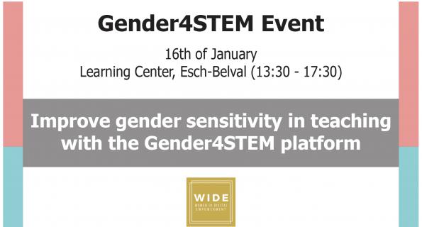 Améliorer la sensibilité au genre dans l'enseignement des STEM avec la plateforme Gender4Stem