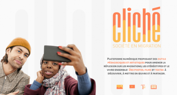 Présentation de CLICHÉ, plateforme numérique sur la migration et le vivre-ensemble