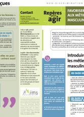 Favoriser l'accès des femmes aux métiers traditionnellement masculins