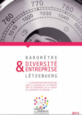 """Baromètre """"Diversité & Entreprise Lëtzebuerg"""", édition 2014"""