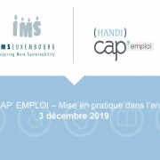 (HANDI)CAP' EMPLOI - IMPLEMENTATION WITHIN THE COMPANY