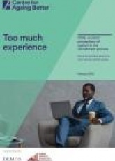 Too much experience